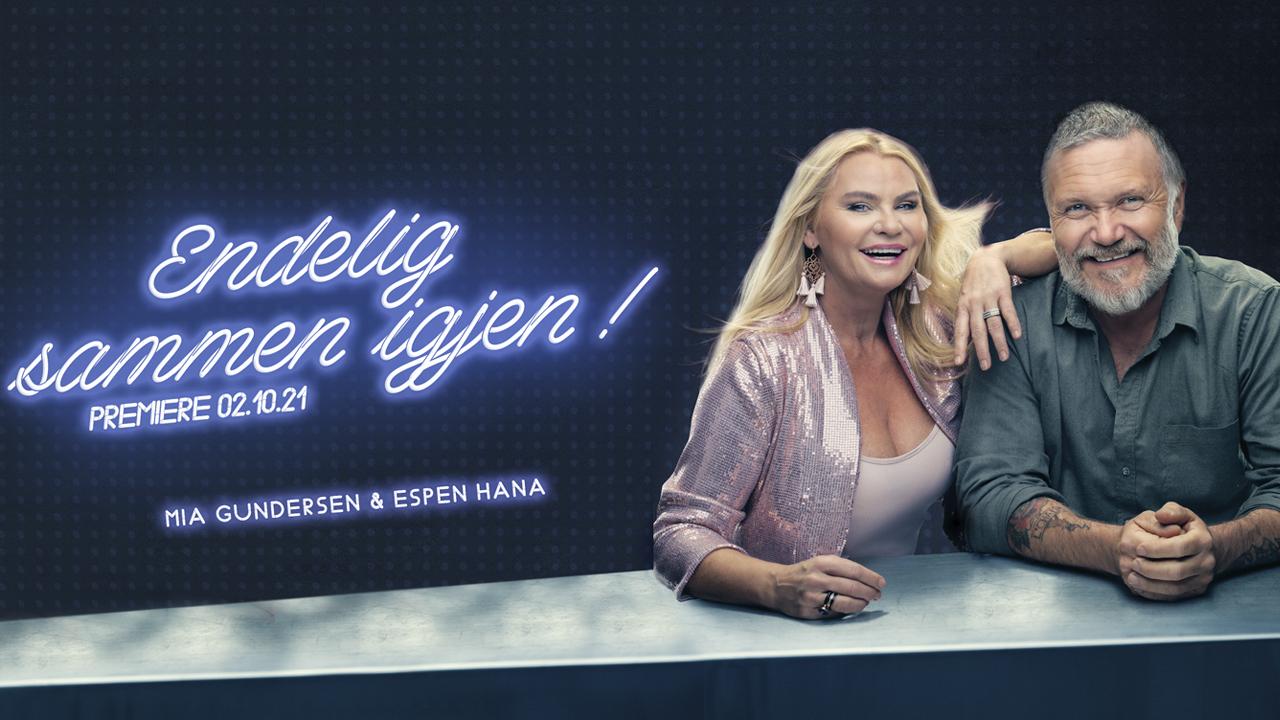 Endelig sammen igjen! - Mia Gundersen og Espen Hana