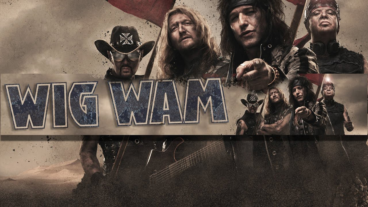 WIG WAM - Never Say Die Tour