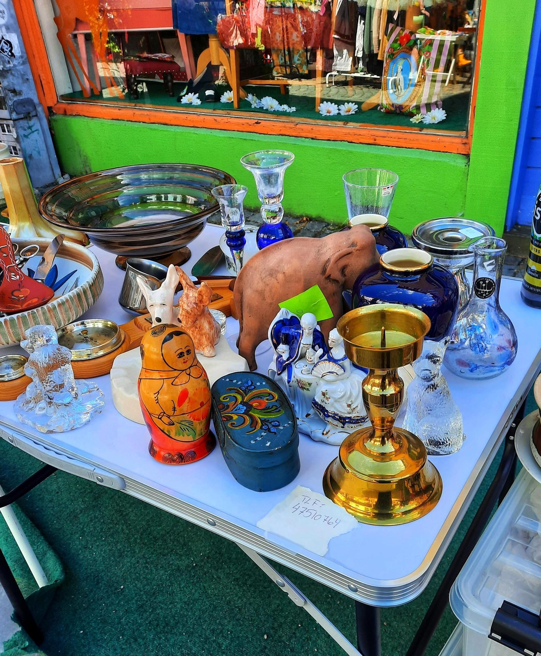 Brukt- og vintagemarked