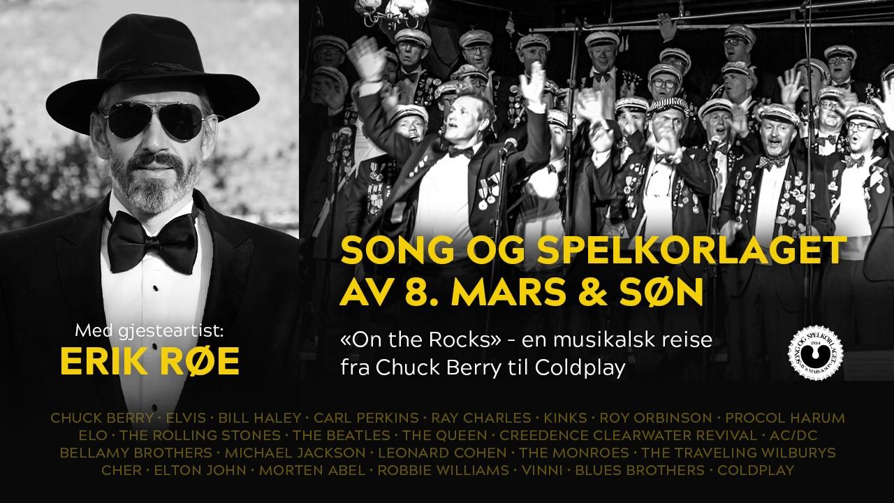 On The Rocks - En musikalsk reise fra Chuck Berry til Coldplay