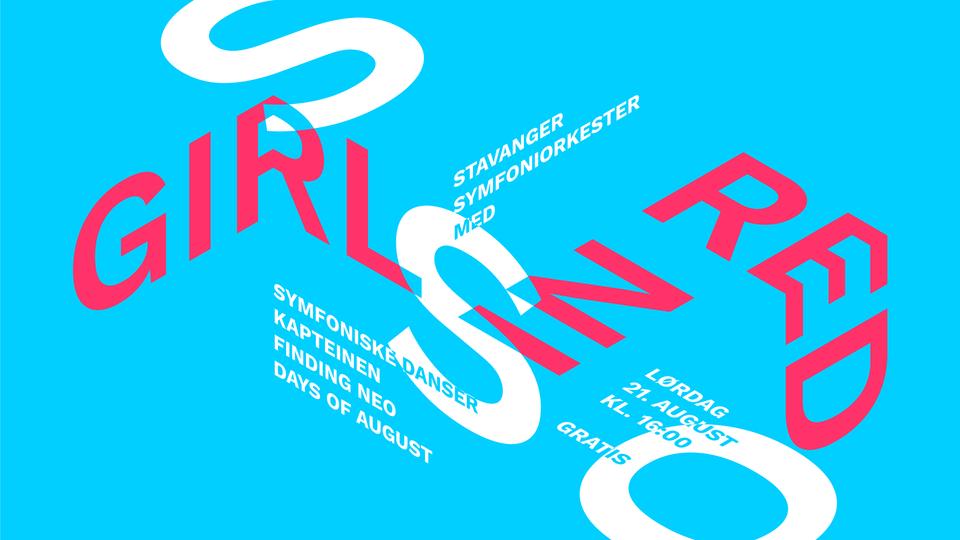 Gratis utendørskonsert med Girl in Red og Stavanger Symfoniorkester