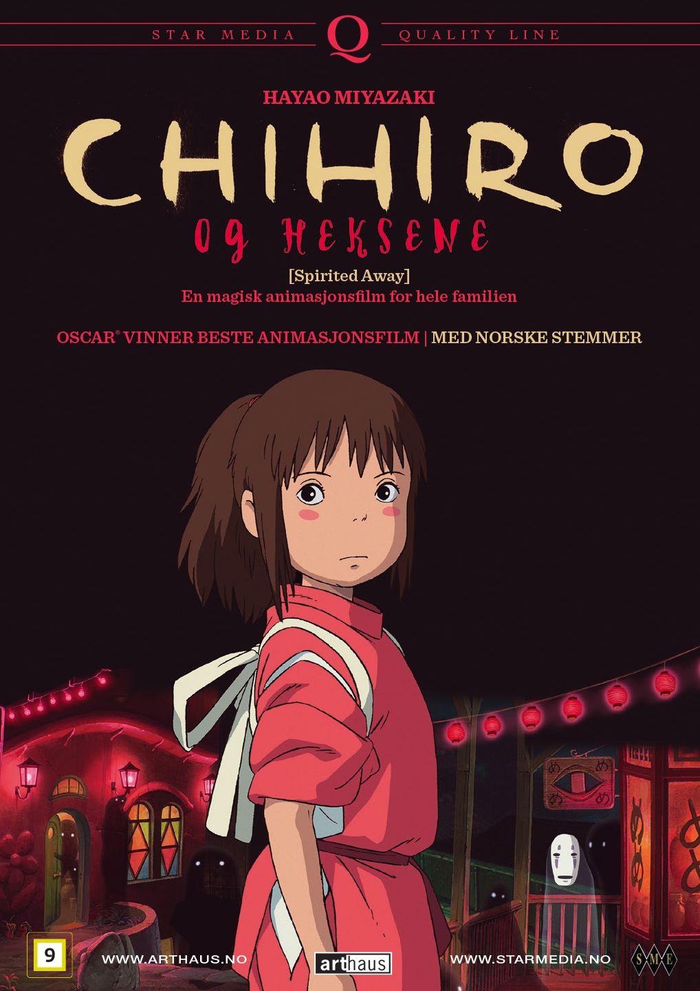 Barnas cinematek: Chihiro og heksene (2001)