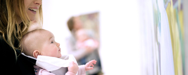 Babyomvisning - Utvalg fra samlingen