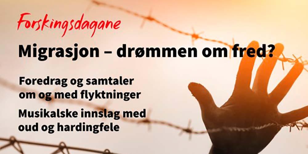 Migrasjon - drømmen om fred?