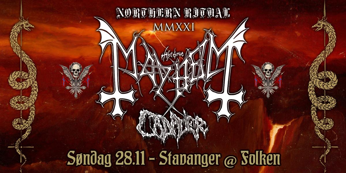 Mayhem + special guests: Cadaver