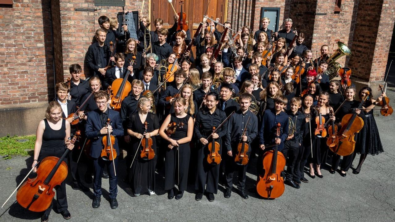 NUSO - Norsk Ungdomssymfoniorkester og instrumenter i fokus