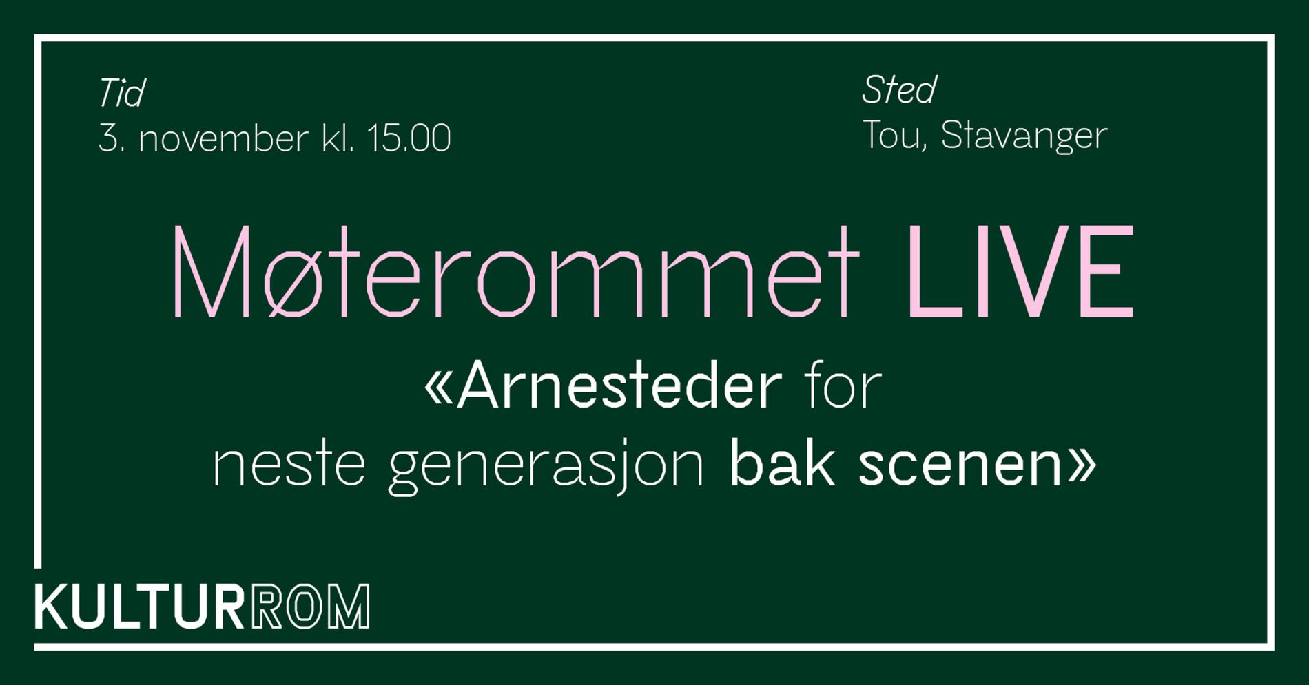 Møterommet LIVE - Stavanger
